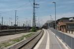 Bahnsteig Gleis 1 Ost Nürnberg Hbf