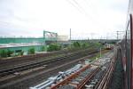 14.5.2010, Weichenspitze vom neuen Ausfahrgleis Richtung Fürth
