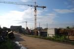 Baustelle Brückenbau Fürth. 29.08.10