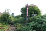 Das - derzeit noch -  stehende ehem. Esig A aus Richtung Nürnberg Rbf. Das Gleis wird bald erneuert und elektrifiziert (Projekt Entlastung Knoten Fürth)