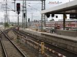 Nürnberg Hbf, 03.08.2010, neue Bahnsteigkante Gleis 2