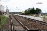 Bahnsteigkantensteine Gleis 2