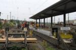 Ansbach, 7.9.2010 - Bahnsteig Gleis 25/1