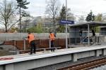 Hp Fischbach: Die endgültigen Geländer werden montiert