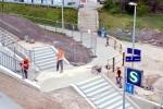 Hp Fischbach: Restarbeiten im Zugangsbereich
