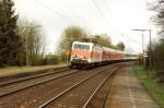 143 888-6 mit SE 20122 nach Ansbach am 08.04.2001 in Oberasbach
