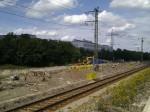 Stein, 14.8.2011 - Der ehemalige Bahnsteig am Gleis 5
