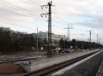 14.1.2012 - Bahnsteig am Gleis 5 in Stein