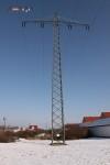 Mast 8099 vor Beginn der Arbeiten