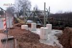 Mast 8098: Das Fundament ist fertig