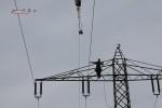 Erdseil  nach De-Montage am alten Mast