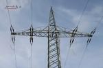 Mast 8100: im oberenen Bildbereich hängen noch die alten Seile, im unteren bereits die neuen