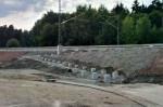 Petersaurach Nord, 26.7.2014 - Die Rampe zum Bahnsteig Richtung Nürnberg