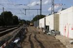 Erlangen 17.08.14: Unterbau für Gleis 1