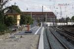 Erlangen 17.08.14: Südliches Bahnsteigende Gleis 1
