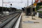 Erlangen 17.08.14: Erneuerung der Bahnsteigoberfläche Gleis 1