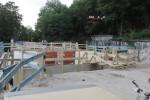30.08.14: Überbau Bayreuther Straße wurde vergossen.