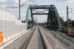 Bruck 17.08.14: Blick durch die A3-Brücke in Richtung Eltersdorf