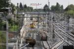 Bruck 22.08.14: Blick von der Paul-Gossen-Straße: zwei Bauweichen sind ausgebaut