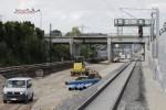 Bruck 30.08.14: Vom alten Süd-Nord-Gleis und dem Blechbahnsteig ist nichts mehr zu sehen