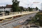 Bruck 22.08.14: Der Holzbahnsteig