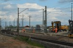 Eltersdorf 23.08.14: Ausgebautes Streckengleis Nürnberg- Bamberg