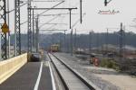 Eltersdorf 06.09.14: Blick vom Holzbahnsteig in Richtung Süden