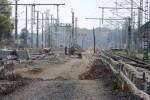 Bruck/A3-Brücke 12.10.14: Blick von der Baustellenzufahrt in Richtung Eltersdorf (Süden)