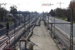 PGS 21.11.14: Unterbau für die  Gleise nach Süden  südlich der Paul-Gossen-Str