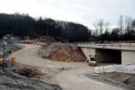 Burgbergtunnel 13.12.14: Straßenverlauf Bubenreuther Weg