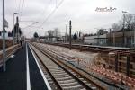 Bruck 23.01.15: Östliche Bahnsteigkannte des neuen S-Bahnsteiges