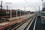 Bruck 23.01.15: Künftiger Gleisverlauf in Richtung Süden (Blickrichtung Norden)
