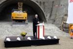 Tunnelanschlag 18.02.15:  Bayerischer Staatsminister für Inneres, Bau und Verkehr, Joachim Herrmann