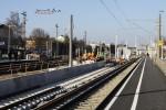 Bruck 20.02.15: Aufgang und Bahnsteigkante
