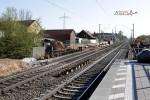 Bubenreuth 19.04.15: Vorbereitungen für den Abbruch: Spundwände neben dem Brückenbauwerk Neue Straße