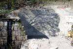 Erlangen 19.04.2015: Vorbereitungen: Hier entsteht das  Südportal der zweiten Röhre durch den Burgberg