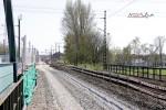 Bruck 19.04.15: Platz für das S-Bahn-Gleis Bamberg - Nürnberg