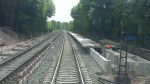 Oberasbach 11.5.2015, neuer Bahnsteig richtung Ansbach