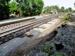 Oberasbach, 14.5.2015 -  Blick von den neuen zu den alten Bahnsteigen