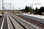 Eltersdorf 23.05.15: Blick vom Holzbahnsteig in Richtung Südwesten