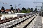 Eltersdorf 23.05.15: Blick auf den Mittelbahnsteig von Süden her