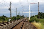 Baiersdorf 27.06.2015: Blick von Süden in den Bahnhof