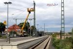 Baiersdorf 27.06.2015: Gleis 3 ohne Fahrleitung