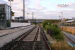 Baiersdorf 08.07.15: Ehemaliges Gleis 3; Blick vom Behelfs-Bahnsteigzugang in Richtung Norden