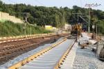 Bubenreuth 17.07.15: Die Anschwenkung am Südende ist fast vollbracht