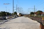 Bubenreuth 10.07.15: Hier wird die Anbindung ans bestehende Gleis erfolgen