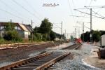 Bubenreuth 17.07.15: Die neue Gleislage