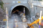 Burgbergtunnel 10.07.15: Südportal