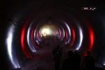 Burgbergtunnel 2.7.15: Blick zurück in den Tunnel