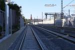 Erlangen Gbf 10.07.15: Privatanschluss Heizkraftwerk mit zwei Gleisen